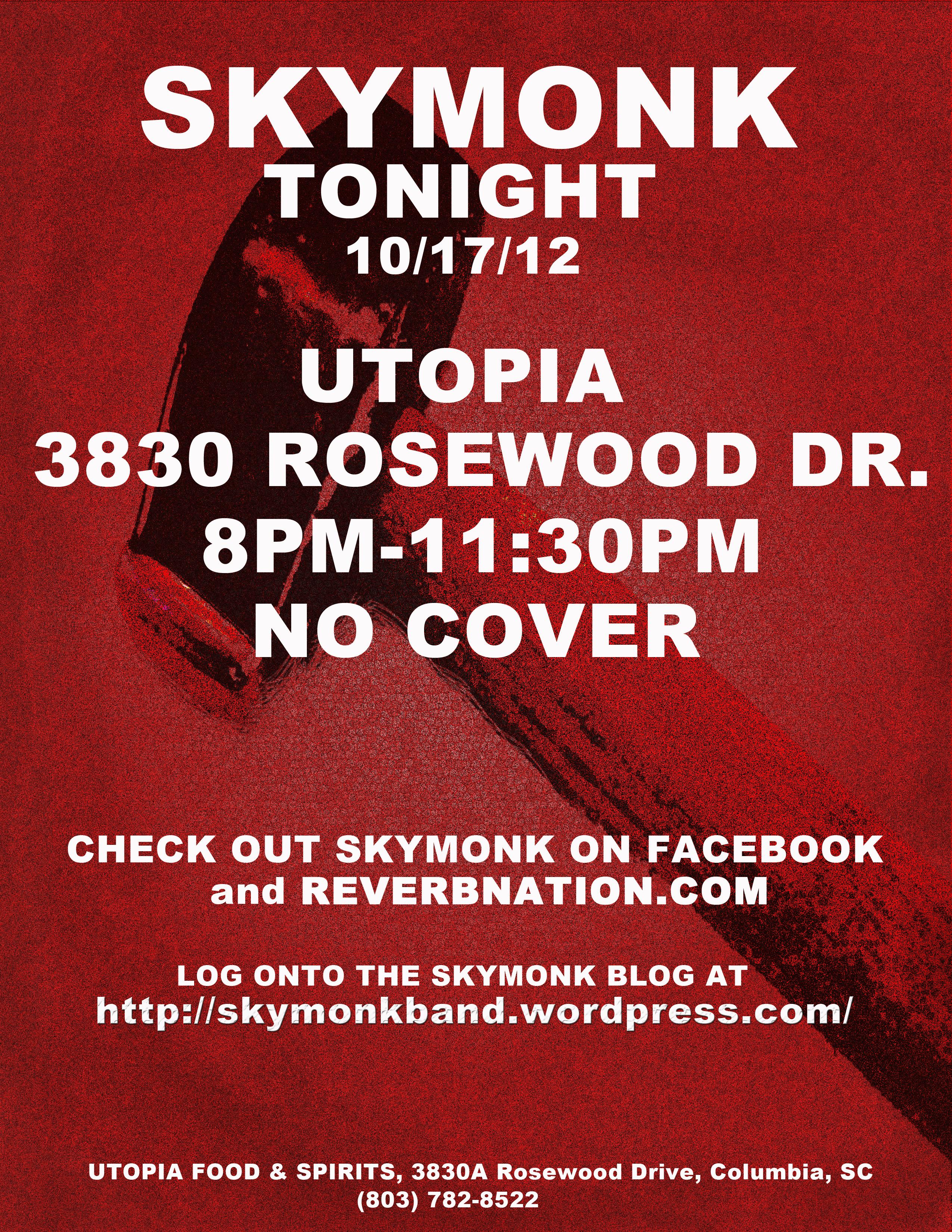Utopia gig 10/17